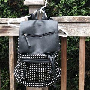 Madden Girl Polka Dot 💯 Cotton Body Backpack